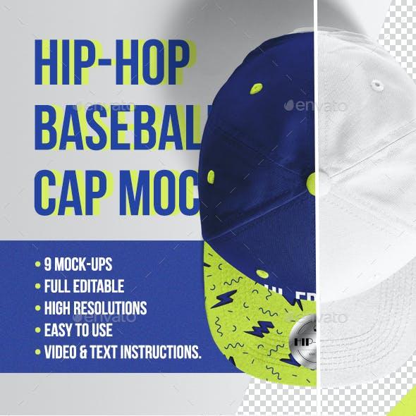 Hip-Hop Baseball Cap Mockups