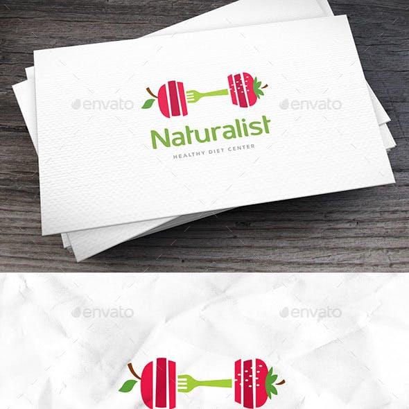 Natural Diet Logo Template