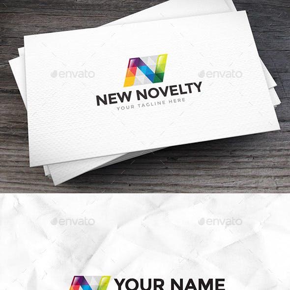 New Novelty Letter N Logo Template