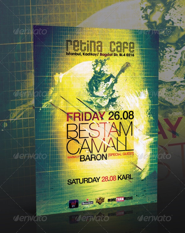 Event Flyer Template Vol.7 - Clubs & Parties Events