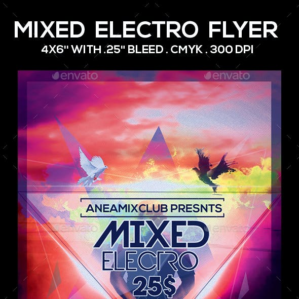 Mixed Electro Flyer