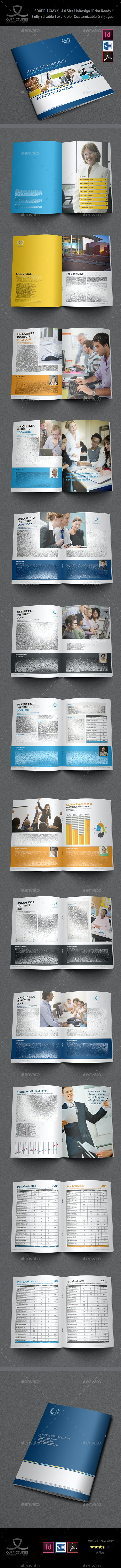 Training Company Brochure Template - 28 Pages - Brochures Print Templates