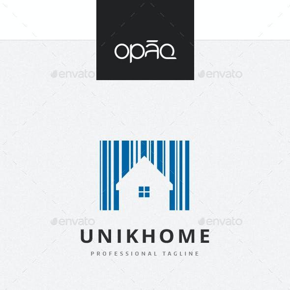 Barcode Home Logo