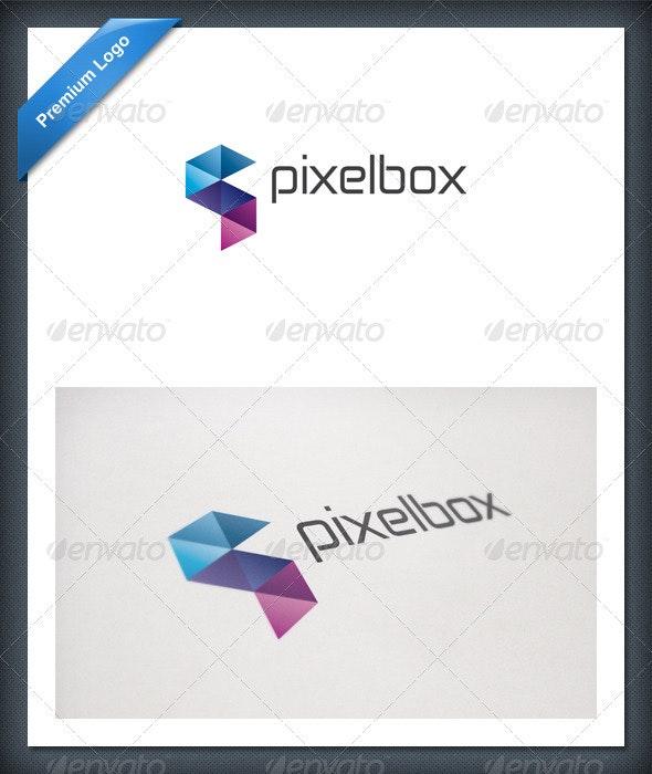 Pixel Box Logo Template - Abstract Logo Templates