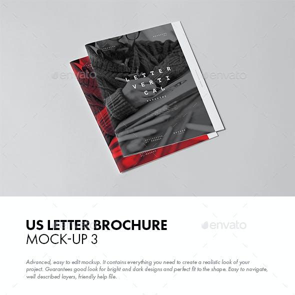 US Letter Brochure Mock-up 3