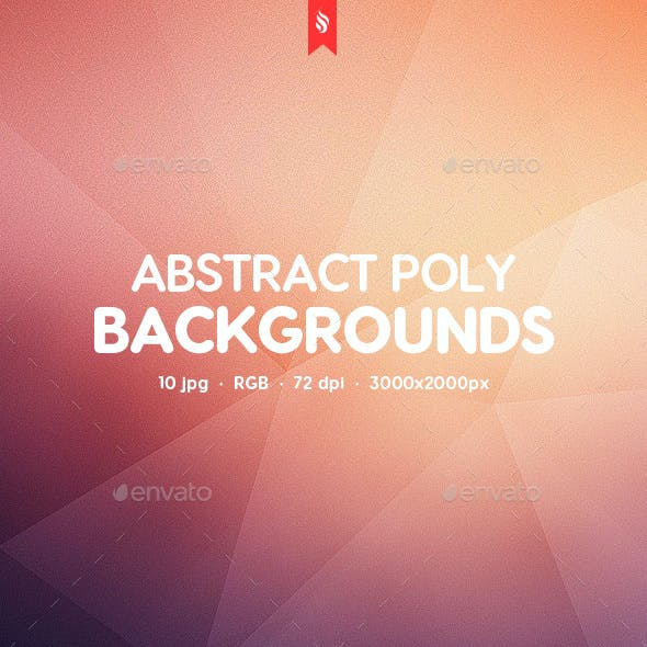 Abstract Poly Backgrounds