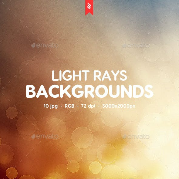 Light Rays Backgrounds