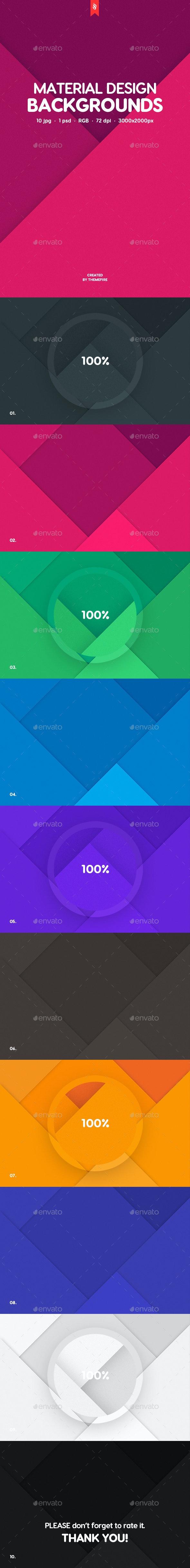 10 Material Design Backgrounds - Patterns Backgrounds