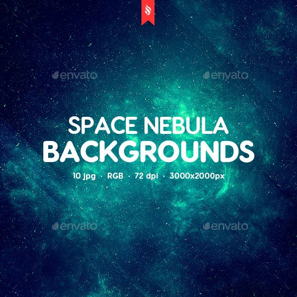 10 Nebula Backgrounds
