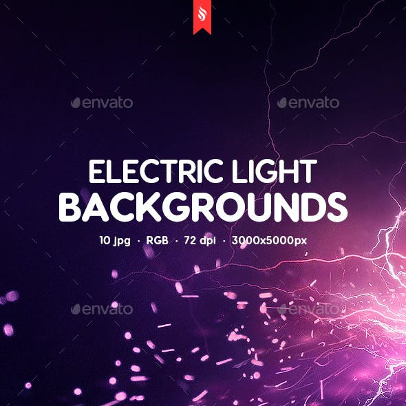 Electric Light Backgrounds