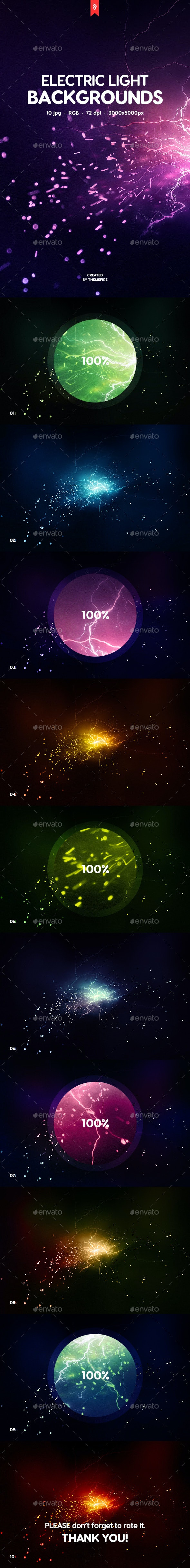 Electric Light Backgrounds - Backgrounds Graphics