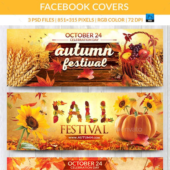 Fall Festival Facebook Covers