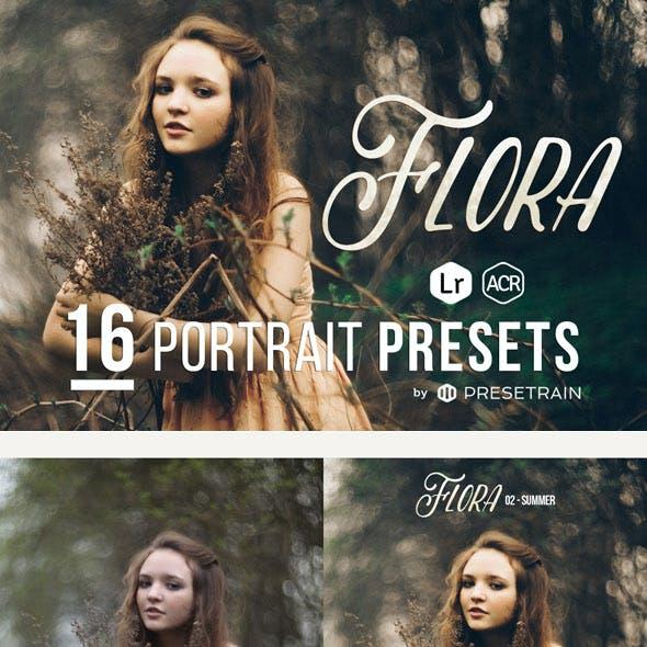 Flora - 16 Presets for Lightroom & ACR