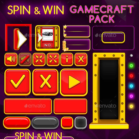 Spin and Win - Game Assets