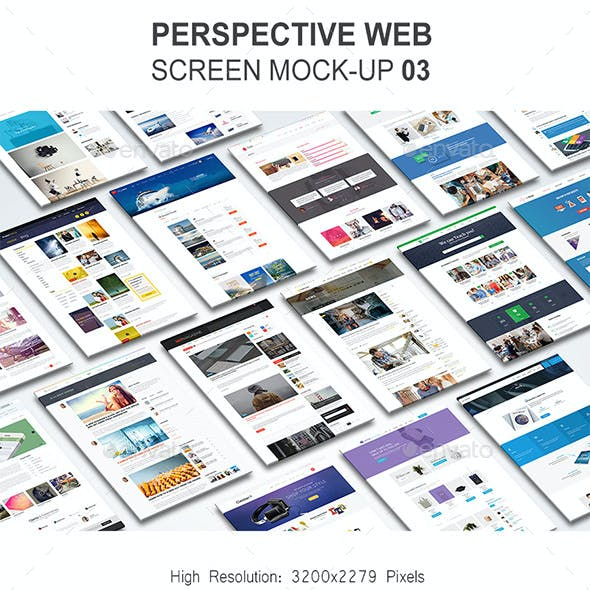 Perspective Website Mock-Up 03