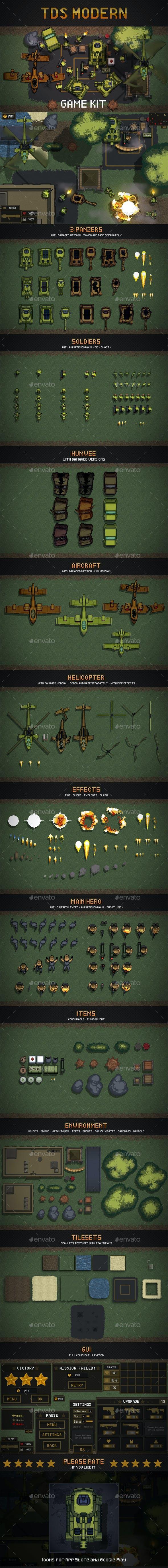 TDS Pixel Art Game Assets