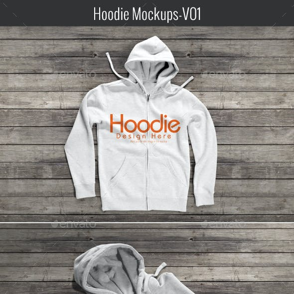 Hoodie Mock-up V01