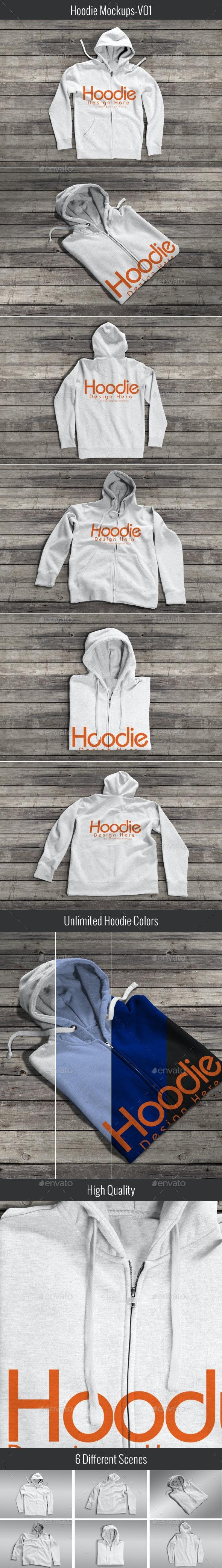 Hoodie Mock-up V01 - Apparel Product Mock-Ups