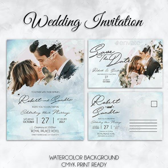 Watercolor Wedding