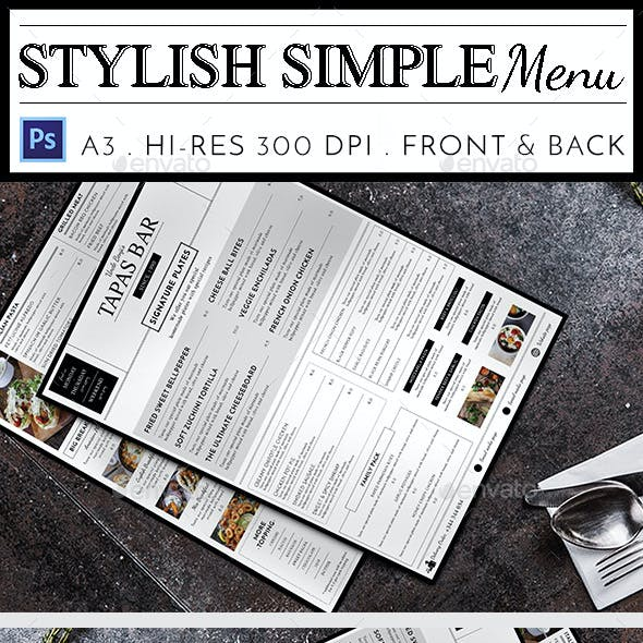 tapas menu template.html