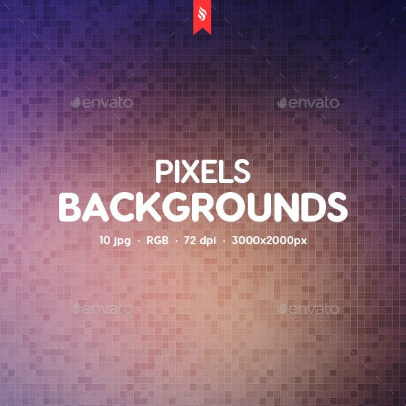 Pixel Backgrounds