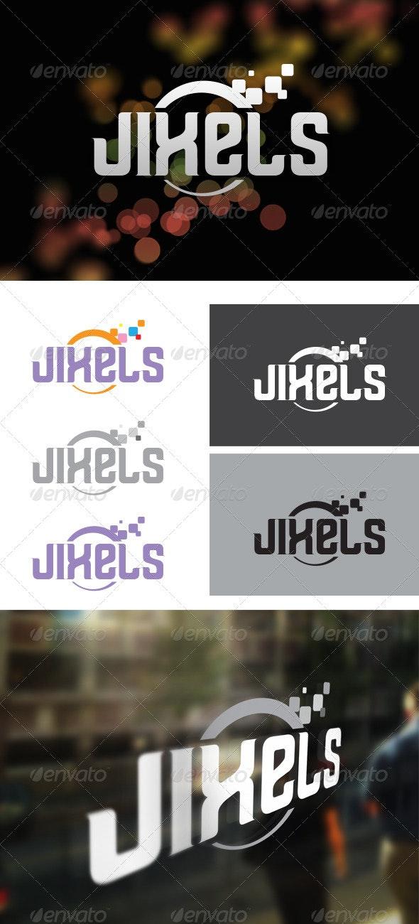 Jixels Digital Agency - Symbols Logo Templates