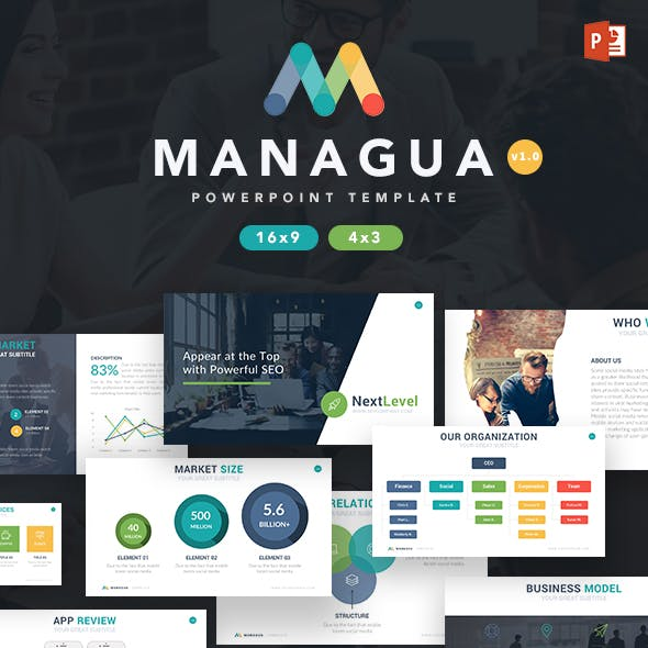 Managua - Multipurpose Powerpoint Template