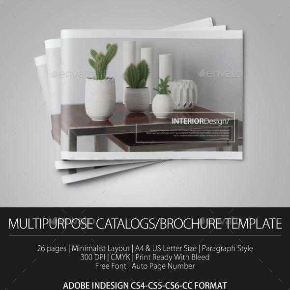 Multipurpose Catalogs/Brochure Template vol 2