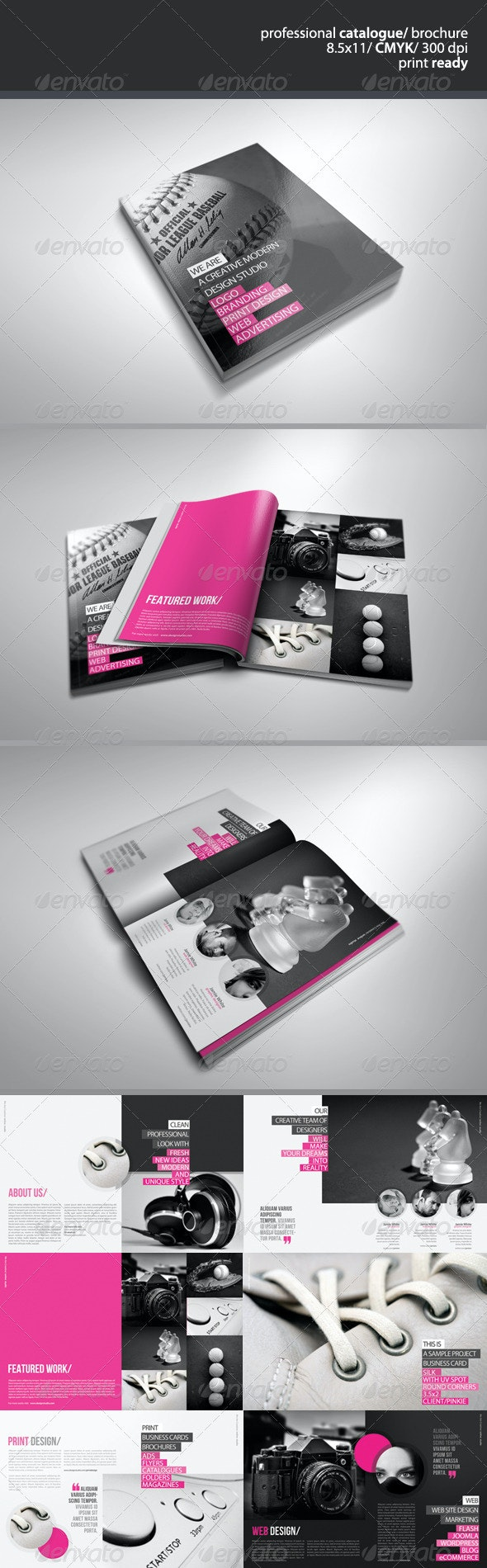 Creative Catalogue/Brochure - Catalogs Brochures
