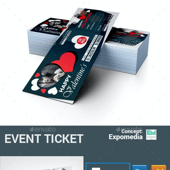 Valentines Event Ticket