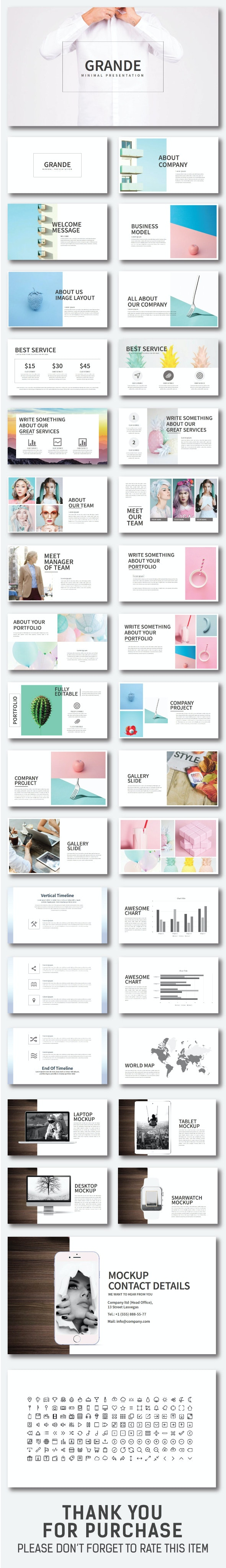 Grande Powerpoint Template - Creative PowerPoint Templates