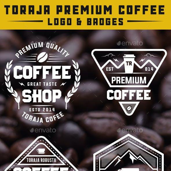 10 Coffee Logo & Badges