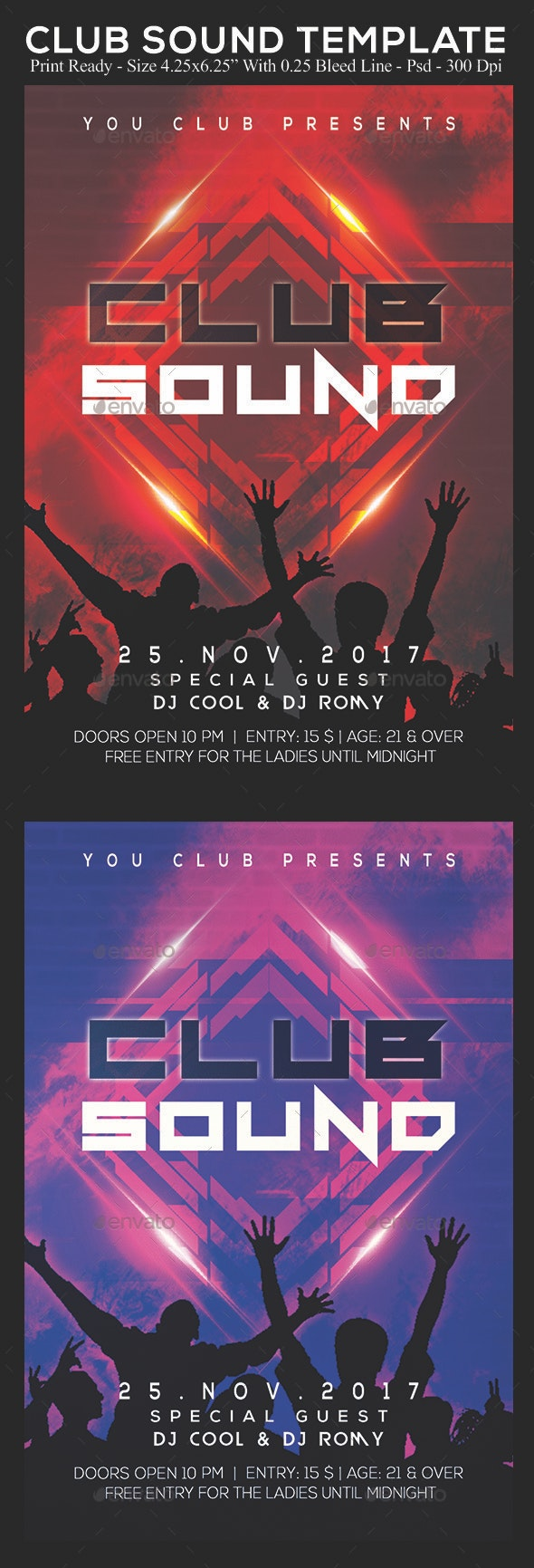 Club Sound - Clubs & Parties Events