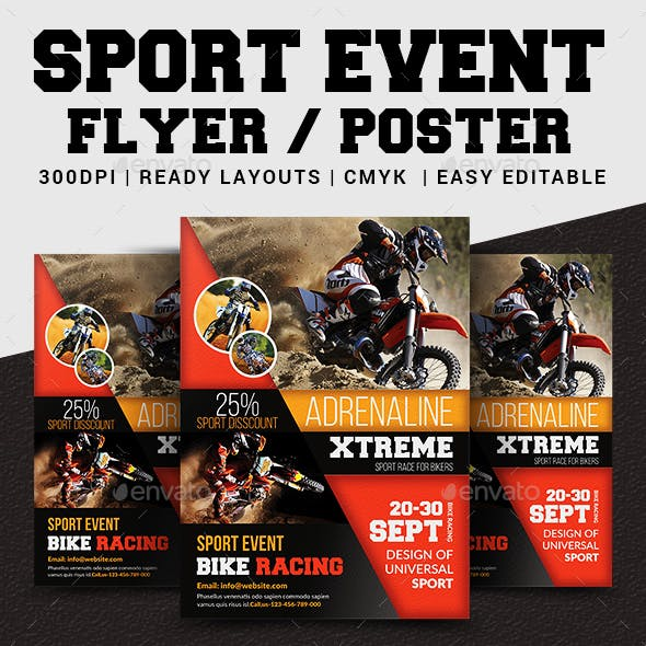 Sport Event Flyer / Poster