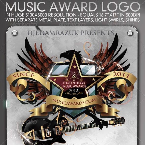 5100x5000 Music Award Emblem