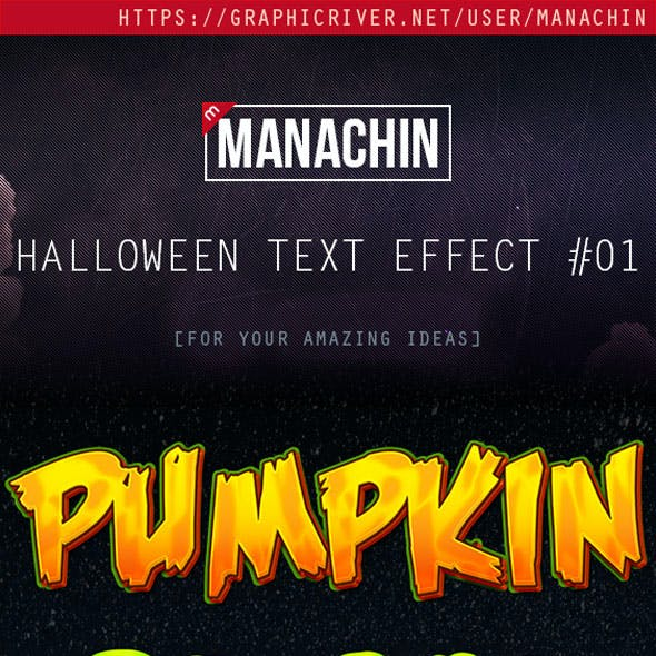 Premium Halloween Text Effects Vol.1