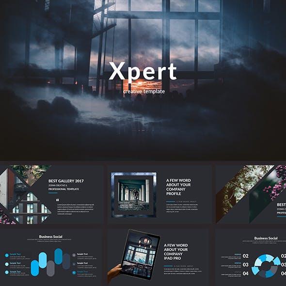 Xpert Creative Keynote Template