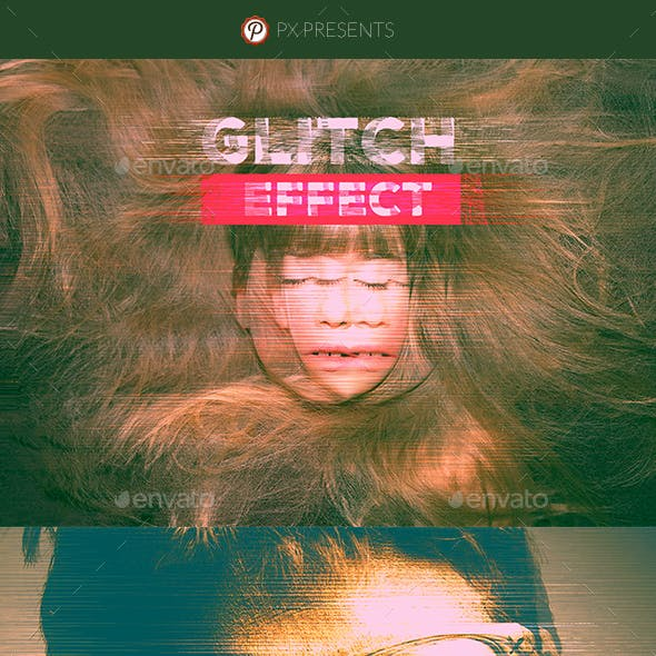 Pro Glitch Effect -  Photo Template