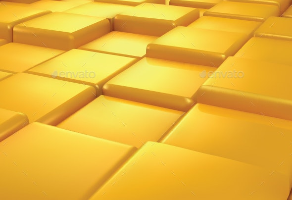 Abstract Golden Background - Backgrounds Decorative