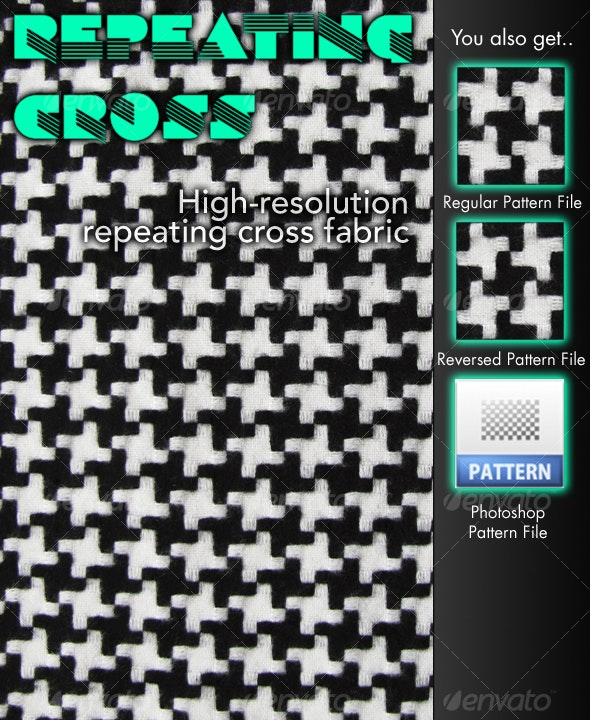 Repeating Cross Fabric - Fabric Textures