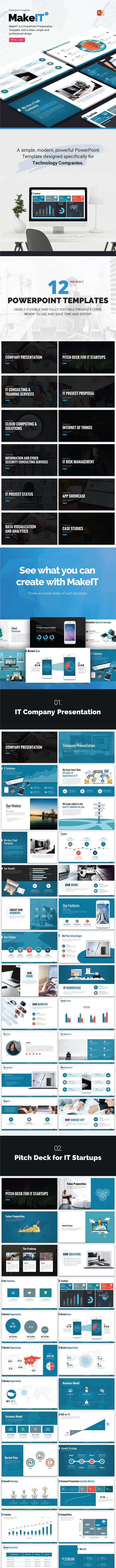 MakeIT-PowerPoint Template - Pitch Deck PowerPoint Templates