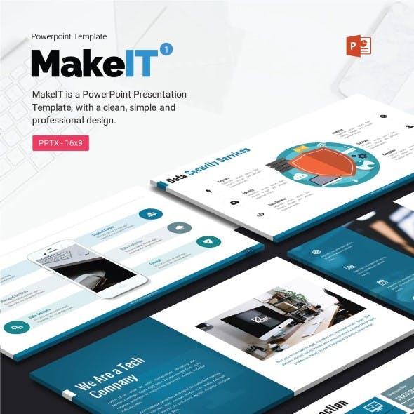 MakeIT-PowerPoint Template