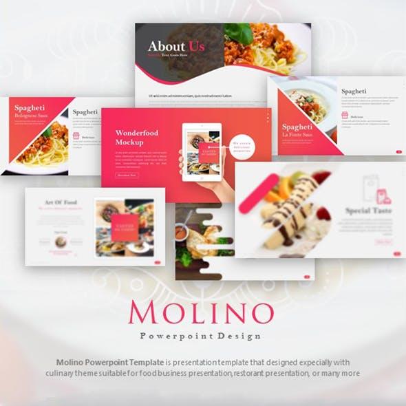 Molino - Food Presentation Template