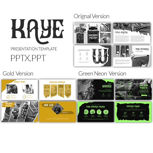 Kaye Powerpoint Template