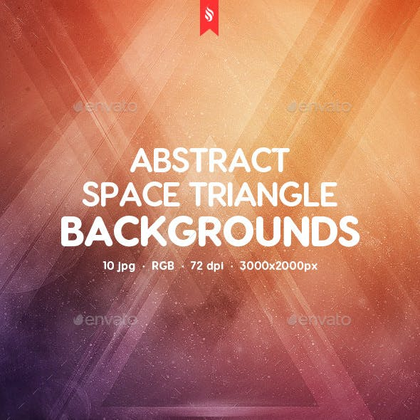 Space Triangle Backgrounds