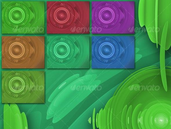 Fantasy motor background set - Tech / Futuristic Backgrounds
