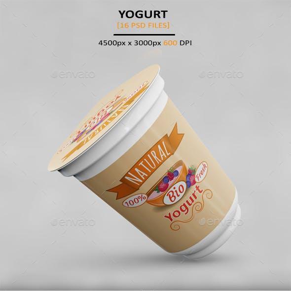 Yogurt MockUp
