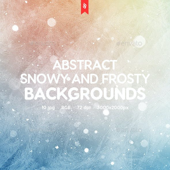 Snowy and Frosty Backgrounds