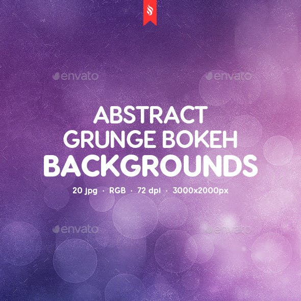 10 Grunge Bokeh Backgrounds