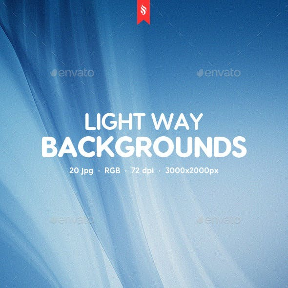 Light Way Backgrounds